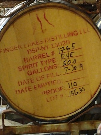 Finger Lakes Distilling Company: Just waiting a few years now