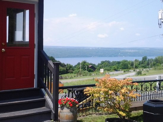 Finger Lakes Distilling Company: View from the Distillery