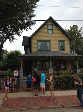 A Christmas Story House : ralphie's house