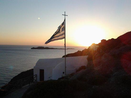 Filoxenes Katoikies : sunset on Kythera