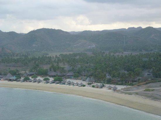 Novotel Lombok: hotel view