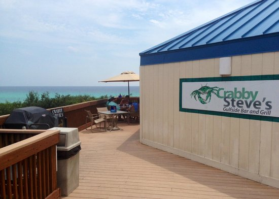 Crabby Steve's: The view!