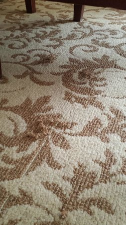 Monte Carlo Resort & Casino: Snags in the carpeting