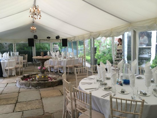 Walton Court Country House: Wedding Marquee