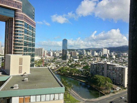 Hawaiian Monarch Hotel: View from my room