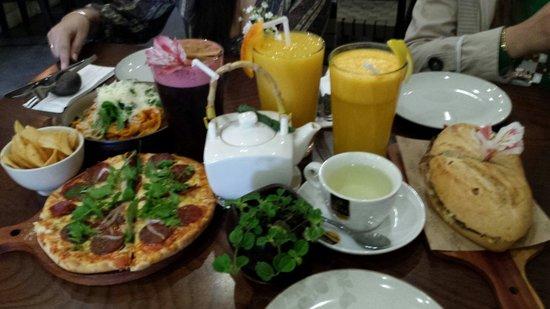 Morena Peruvian Kitchen: No pudimos quedarnos con las ganas de probar un poco más de las delicias de Café Morena y volvim