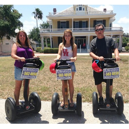 SegCity Guided Segway Tours : Great time on the Segways