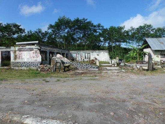 Merapi Volcano: house damage 4year after merapi erruption