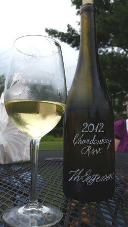 Jefferson Vineyards: Chardonnay