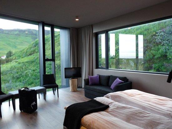 Hotel Edda - Vik i Myrdal : Vegetal wall