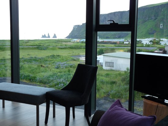 Hotel Edda - Vik i Myrdal : Beach view