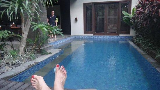 Le Jardin Villas, Seminyak: Loved this pool!