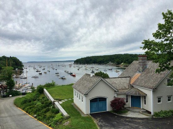 Rockport, ME: View from the deck