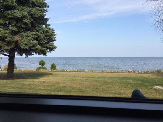 Schloegel's Bay View Restaurant: View from our booth.