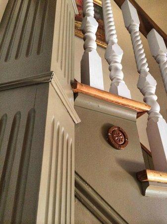 Blair Hill Inn: Main staircase