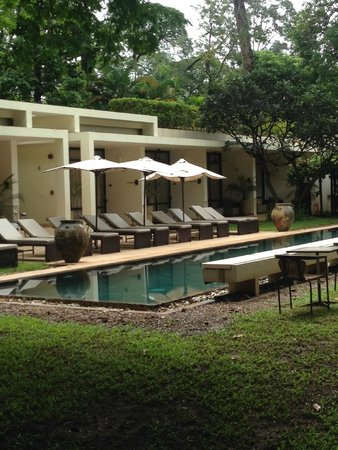 FCC Angkor: View across the pool and poolside rooms