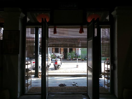 Layang Layang Guest House: view from inside