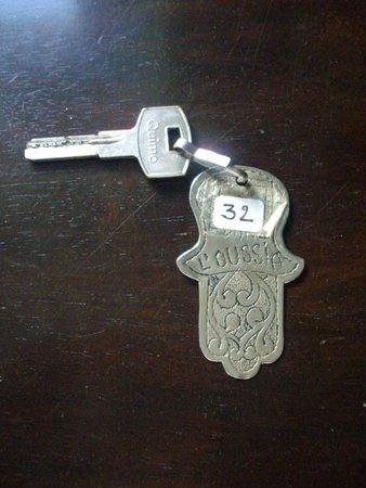 Riad Dar L'Oussia: Room Key