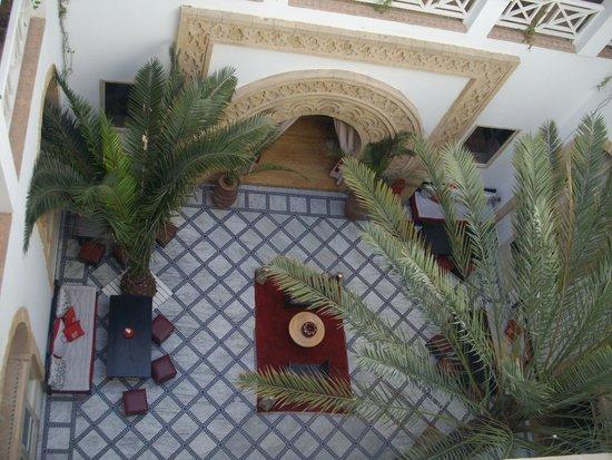 Riad Dar L'Oussia: Courtyard