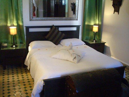 Riad Dar L'Oussia: Bedroom
