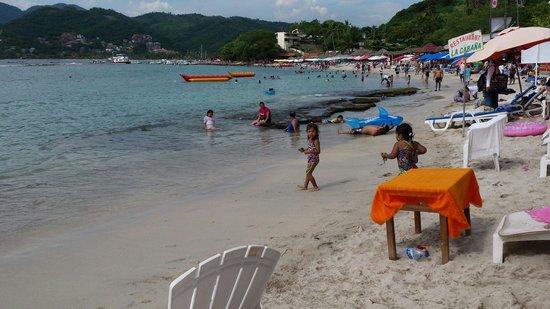 Playa Las Gatas : Olas tranquilas