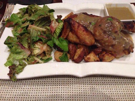 Voodka: Half rotisserie chicken