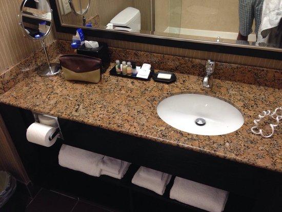 Best Western Premier Freeport Inn & Suites: King suite bathroom