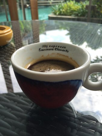 Le Meridien Bali Jimbaran : My morning coffee