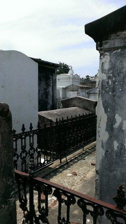 Magic Tours: Tight spaces in St. Louis cemetery #1