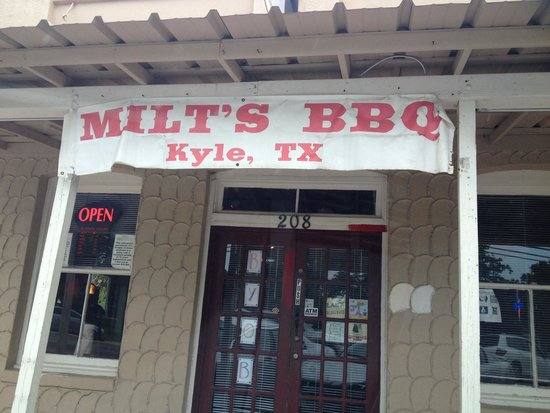 Milt's Pit Barbeque: Store Front