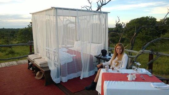 Kapama River Lodge : Romantic Sleepout
