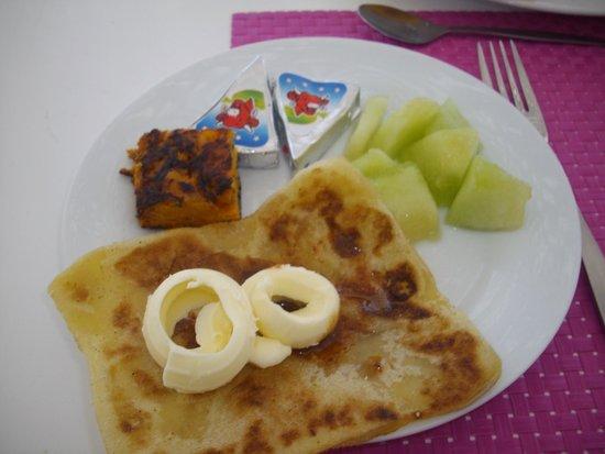 Riad Dar L'Oussia : Breakfast on the terrace