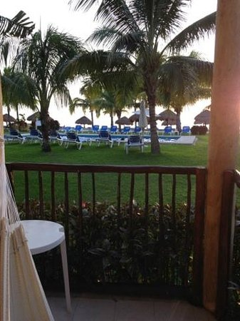 Allegro Cozumel: View from room