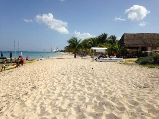 Allegro Cozumel : Beach view