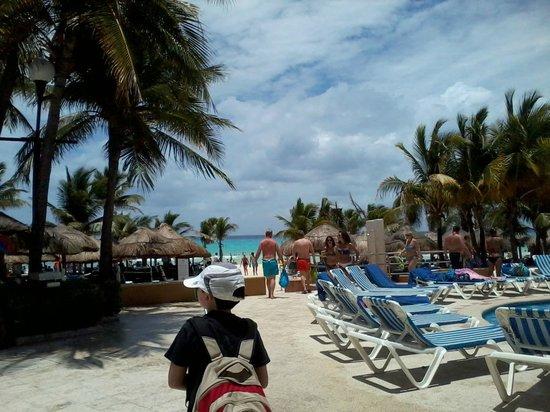 Viva Wyndham Maya: playa