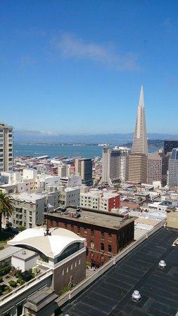 InterContinental Mark Hopkins San Francisco: 部屋からの景色