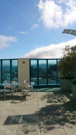 InterContinental San Francisco: クラブラウンジのテラス