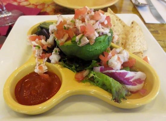 Judie's : Small plate shrimp serviche