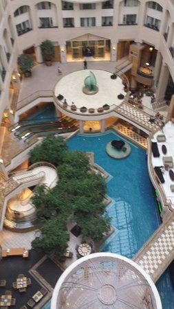 Grand Hyatt Washington: Beautiful lobby