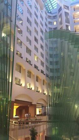 Grand Hyatt Washington: Beautiful lobby entrance