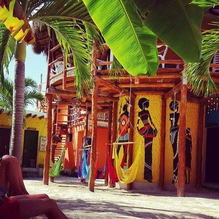 Tribu Hostel: Patio
