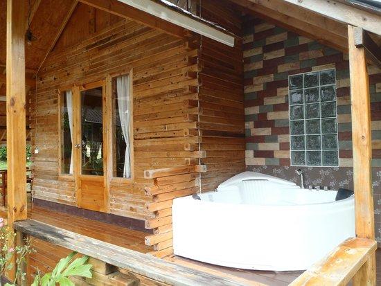 A-Na-Lay Resort Koh Kood: room with jaccuzi