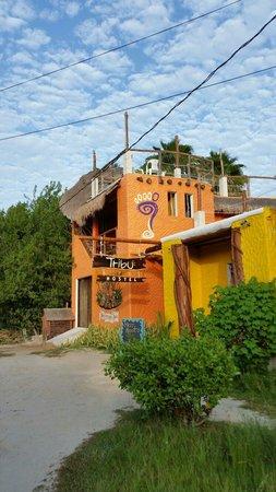 Tribu Hostel: Fachada