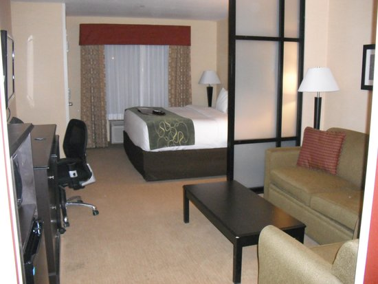 Comfort Suites Helena: King Bed Suite
