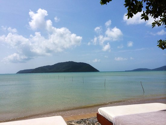 Serenity Resort & Residences Phuket : View out to sea from your sunbed!
