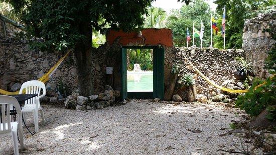 Nomadas Hostel: Garden
