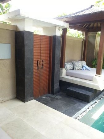 Disini Luxury Spa Villas : entrance