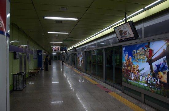 Seoul Metro : informaçao nao falta