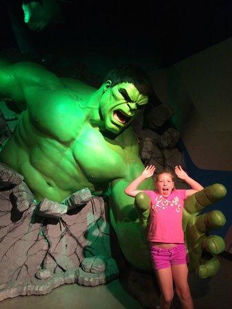 Madame Tussauds -  Las Vegas: Fun for kids