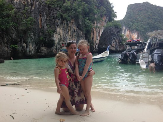 Phuket Sail Tours: at the swimming and snorkelling beach